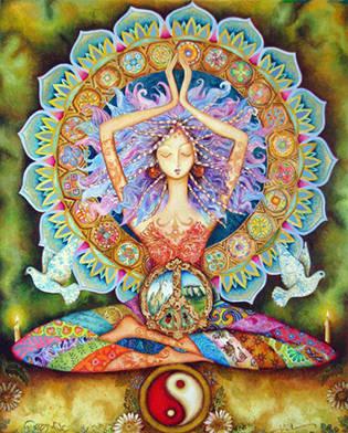 Slika-Meditacija-Olje-na-platnu-slikaslike.si_